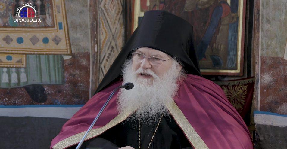"""""""Η ελπίδα μας, η δύναμή μας, το φως μας είναι ο Χριστός"""" ο Γέροντας Εφραίμ μιλάει για την πανδημία μετά την Αγρυπνία στο Άγιο Όρος"""