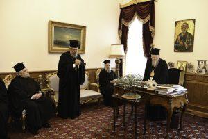 Ο Αρχιεπίακοπος Κύπρου Χρυσόστομος de profundis, προς τον Οικουμενικό Πατριάρχη Βαρθολομαίο