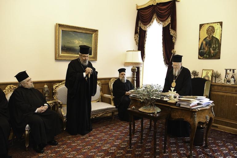 You are currently viewing Ο Αρχιεπίακοπος Κύπρου Χρυσόστομος de profundis, προς τον Οικουμενικό Πατριάρχη Βαρθολομαίο