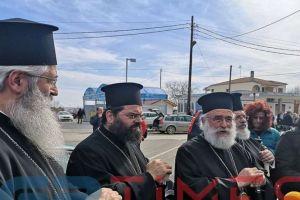 Δίπλα στις δυνάμεις ασφαλείας και στους στρατιώτες μας στα σύνορα οι τέσσερις μητροπολίτες Θράκης