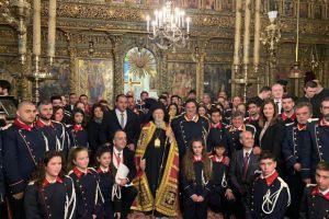 """Οικουμενικός Πατριάρχης: """"Με την χάριν του Θεού η Μεγάλη του Χριστού Εκκλησία θα επιβιώσει εδώ στην Μητρόπολη του Γένους"""""""