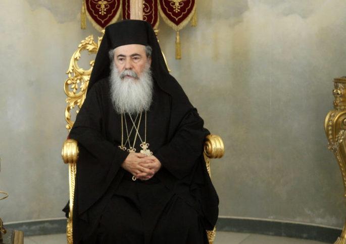 """Ιεροσολύμων Θεόφιλος: «Ο Σταυρός αποτελεί ενσάρκωση της εν Χριστώ δικαιοσύνης"""""""