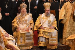 Η μεστή και συγκινητική αντιφώνηση του Αρχιεπισκόπου  Κύπρου  προς τον  Οικουμενικό Πατριάρχη