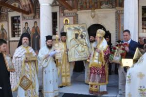 Τιμήθηκε η μνήμη των 172 Πατέρων στην Ιερά Μονή Εικοσιφοινίσσης προεξάρχοντος του Σεβ. Δράμας Παύλου