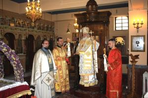 Μνήμη Αρχιεπισκόπου Χριστοδούλου στην εορτή του Αγίου Γεωργίου.