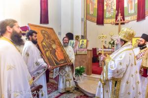 Διπλή εορτή στην Μητρόπολη Λαγκαδά:των Αγίων Ραφαήλ, Νικολάου και Ειρήνης και της ευρέσεως της εικόνας της Παναγίας της Πορταίτισσας