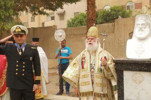 Ιστορικές στιγμές στον Αγ. Γεώργιο Παλαιού Καΐρου με τον Πατριάρχη Θεόδωρο