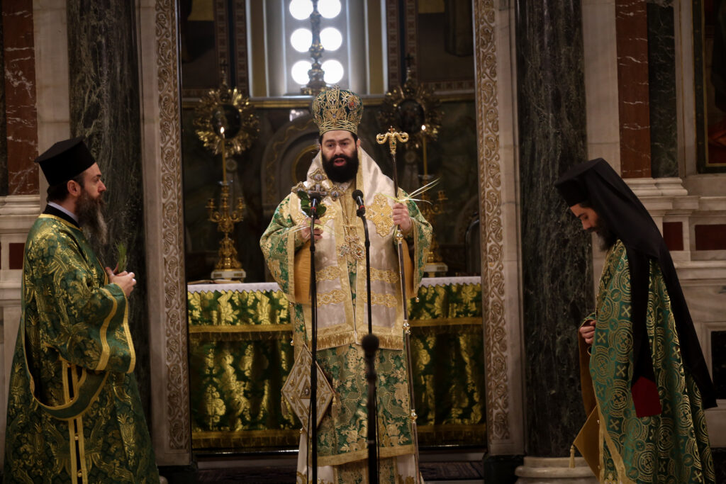 Η Κυριακή των Βαΐων στον Καθεδρικό Ναό Αθηνών