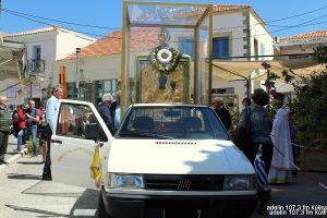 Περιφορά της Ιεράς Εικόνος της Παναγίας Μυρτιδιωτίσσης στις 3 Μαίου στα Κύθηρα