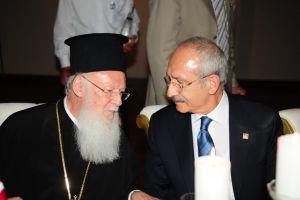 Ευχές πολιτικών της Τουρκίας προς τον Οικουμενικό Πατριάρχη για το Πάσχα