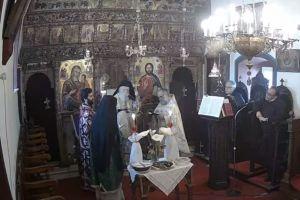 Θεία Λειτουργία και Παράκληση στα Κύθηρα