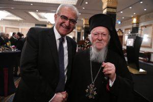 Θερμά συγχαρητήρια του Οικουμενικού Πατριάρχη Βαρθολομαίου στον «Ε.Κ.» για τα 105 χρόνια