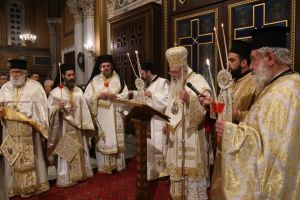 Η Ανάσταση του Κυρίου στον Μητροπολιτικό Ναό Αθηνών