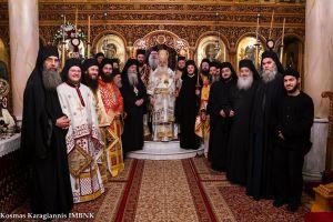 Πανηγύρισε η Ιερά Μονή Παναγίας Δοβρά Βεροίας – Κουρά Μοναχού