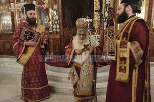 Ο Εδέσσης Ιωήλ προσευχήθηκε για την κατάπαυση του Κορωνοϊού