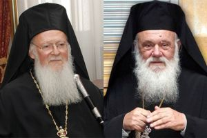 Πατριάρχης , Πρωθυπουργός και Υπ. Παιδείας τηλεφώνησαν στον Αρχιεπίσκοπο Ιερώνυμο και του ευχήθηκαν περαστικά