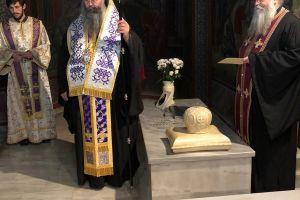 Τρισάγιο από τον Μητροπολίτη Κίτρους στη μνήμη των μακαριστών προκατόχων του Παρθενίου, Κωνσταντίνου και Βαρνάβα
