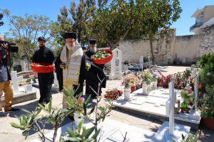 Ο Μητροπολίτης Σύρου Δωρόθεος τέλεσε Τρισάγιο για όλους τους κεκοιμημένους στο Κοιμητήριο Ερμουπόλεως
