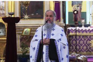 Άστραψε και βρόντηξε ο π. Βασίλειος Βολουδάκης:  «Αυτό το αίσχος δεν θα το σβήσει η ιστορία, δεν θα σβηστεί από την ιστορία αυτό το αίσχος, αυτή η αγανάκτηση του λαού του Θεού»