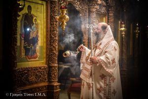 Ο εορτασμός της Ε ´ Κυριακής των Νηστειών και της Οσίας Μαρίας της Αιγυπτίας στην Ι. Μητρόπολη Λαγκαδά