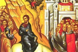 Κυριακὴ τῶν Βαΐων, Ἡ εἰς Ἰερουσαλὴμ εἴσοδος τοῦ Κυρίου ἡμῶν Ἰησοῦ Χριστοῦ, 21 Ἀπριλίου 2019 (Αριθμ. 12)