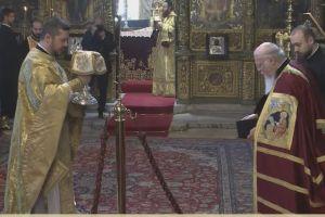 Η Κυριακή των Βαίων στο Φανάρι με τον Οικουμενικό μας Πατριάρχη