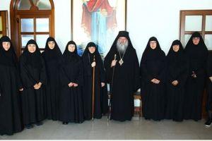 Ενθρόνιση νέας καθηγουμένης της Ιεράς Μονής Παναγίας Αμιρούς στη Μητρόπολη Λεμεσού