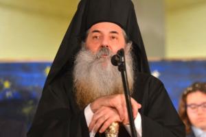 Πειραιώς Σεραφείμ στο MEGA : Είναι ύβρις για την εκκλησία να διακοπεί η Θεία Κοινωνία
