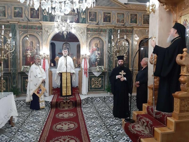 Ο Σεβ. Μητροπολίτης Χαλκίδος κ. Χρυσόστομος στον εορτασμό των Αγίων Κωνσταντίνου και Ελένης σε ενορίες της Μητροπόλεως του