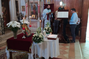 Κερκύρας Νεκτάριος: ο φυσικός χώρος της προσευχής είναι η θεία λειτουργία