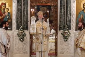 Η Απόδοση της εορτής του Πάσχα και ο πανηγυρικός εορτασμός της μνήμης του Μεγάλου και θαυματουργού Οσίου Ιωάννου του Ρώσσου στο ομώνυμο προσκύνημα της Χαλκίδας