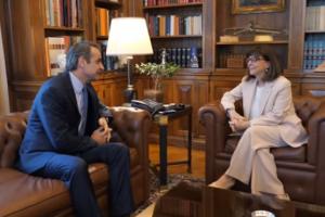 Συνάντηση Πρωθυπουργού-ΠτΔ: Σημαντικός ο ρόλος της Εκκλησίας