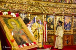 Τον Άγιο Αθανάσιο τίμησαν στην Ι.Μ. Λαγκαδά
