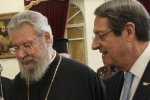 """Αρχιεπίσκοπος Κύπρου Χρυσόστομος Β': """"Η Εκκλησία της Κύπρου θα μεριμνήσει για την αυστηρή εφαρμογή των μέτρων"""""""
