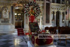 Με μέτρα προστασίας το προσκύνημα του Λειψάνου του Αγίου Ισιδώρου στη Χίο