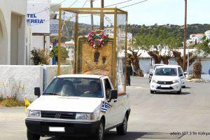 Συγκίνηση και δέος από την λιτάνευση της Παναγίας της Μυρτιδιώτισσας σε όλο το νησί των Κυθήρων- Όλος ο λαός στο πόδι