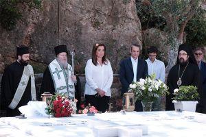 Παρουσία του Πρωθυπουργού το Μνημόσυνο του Κωνσταντίνου Μητσοτάκη στα Χανιά