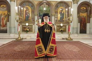 Πατριαρχικός Εσπερινός στον Ι.Ν. Αγίων Κωνσταντίνου και Ελένης Καΐρου