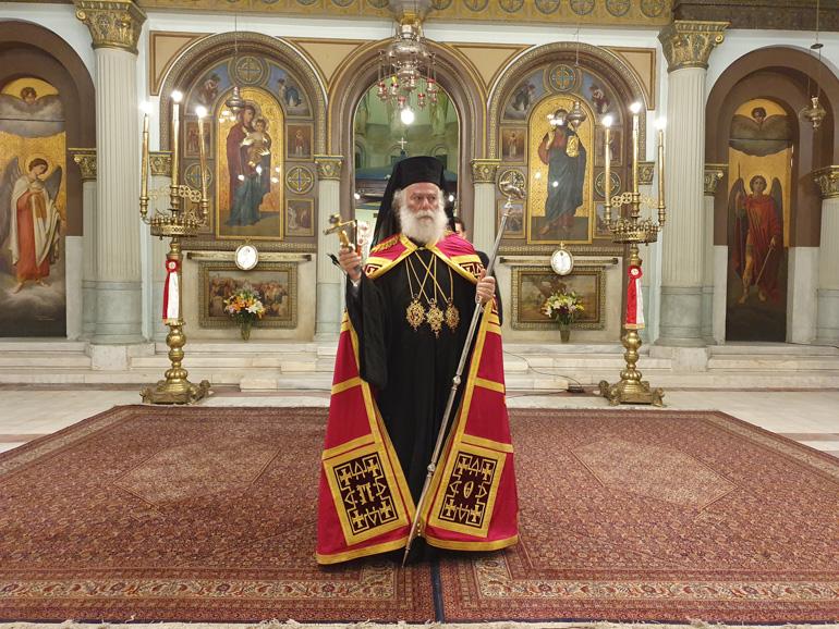 You are currently viewing Πατριαρχικός Εσπερινός στον Ι.Ν. Αγίων Κωνσταντίνου και Ελένης Καΐρου