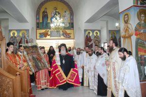 """Ο εορτασμός στην Ι.Μονή Αγίων Πατέρων Περάματος -Νικαίας Αλέξιος: """"Εκκλησία, Επίσκοποι, Άρχοντες και αρχόμενοι να διαφυλάττουμε τη…"""