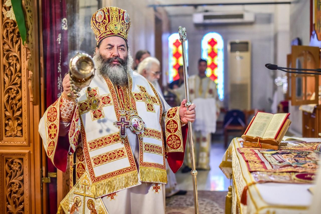 Ο εορτασμός των Ισαποστόλων Κωνσταντίνου και Ελένης στην Ι. Μητρόπολη Λαγκαδά