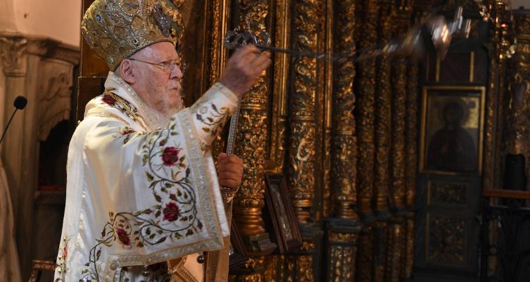 You are currently viewing Οικουμενικός Πατριάρχης Βαρθολομαίος : Έχουμε τόν Θεό μαζί μας που είναι πολύ πιο ισχυρός από τον κορονοϊό
