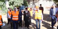 Ο Αρχιεπισκοπος Ιερώνυμος και ο Περιφερειαρχης κ.Πατούλης σε υπό ανακαίνιση κτίρια της Εκκλησίας