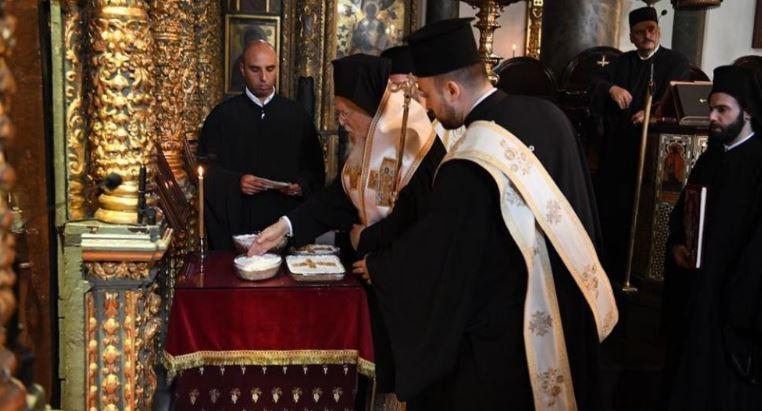 Η Θεία Λειτουργία του Σαββάτου των Ψυχών στο Φανάρι