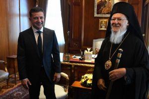 Επιστολές συμπαθείας και ενδιαφέροντος του Πατριάρχη Βαρθολομαίου προς τον Ουκρανό Πρόεδρο και προς τον π. Πρόεδρο