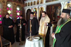 Νέος Καθηγούμενος της Ιεράς Μονής Αγίου Βλασίου Στυλίδος ο Πρωτοσύγκελλος της Ιεράς Μητροπόλεως Φθιώτιδος Αρχιμ. π. Άγγελος Ανθόπουλος.