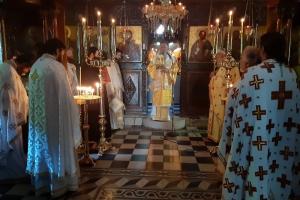 Η  εορτή της Αγίας Φεβρωνίας στην Ιερά Μονή Αγίου Νικολάου Γαλατάκη Λίμνης -Ευβοίας