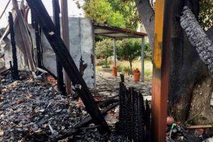 Οδοιπορικό του MEGA στη μονή Βαρνάκοβας που έγινε στάχτη