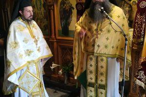Την πρώτη του Θεία Λειτουργία στη Μονή του Αγίου Βλασίου Φθιώτιδος ετέλεσε ο νέος Καθηγούμενος Αρχιμ. π. Άγγελος Ανθόπουλος