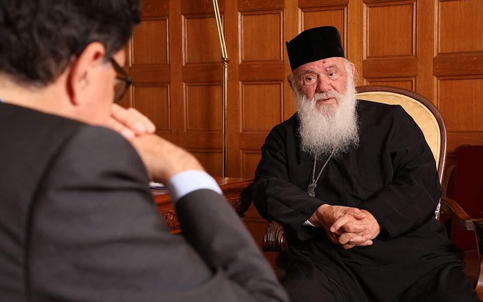 Αρχιεπίσκοπος Αθηνών και πάσης Ελλάδος Ιερώνυμος στην «Κ»: Η Εκκλησία έχει ανάγκη από αγίους